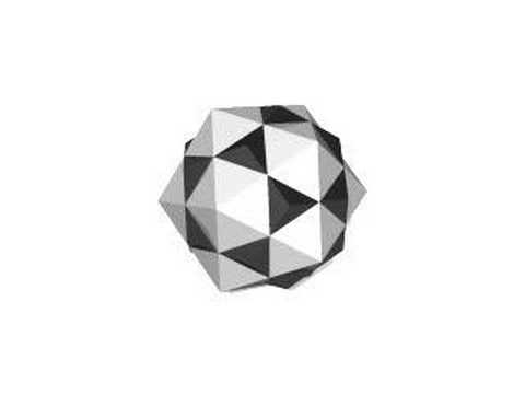 1st stellation of icosidodecahedron (ver. 0.9)