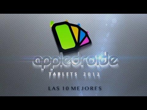 Las 10 mejores tablets del 2012