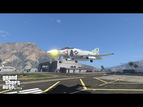 GTA 5 - Military Base Airplane Spotting (HD)