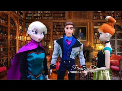 KRISTOFF IS LOST AT SEA ! Toys and Dolls Fun with Princess Drama Ep. 5 - Elsa & Anna Series