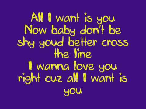 Christina Aguilera - Come On Over (All I Want is You) lyrics.wmv