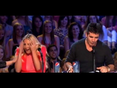 Britney Spears X Factor Promo - Awkward Sexy Joke! video