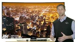 Samsung 65 Inch Curved 4K LED 3D Smart HDTV - UN65HU9000 Overview