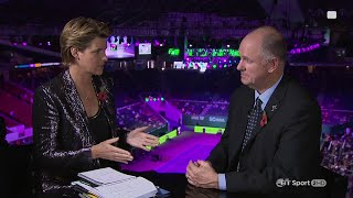 BT Sport interview with new WTA CEO Steve Simon