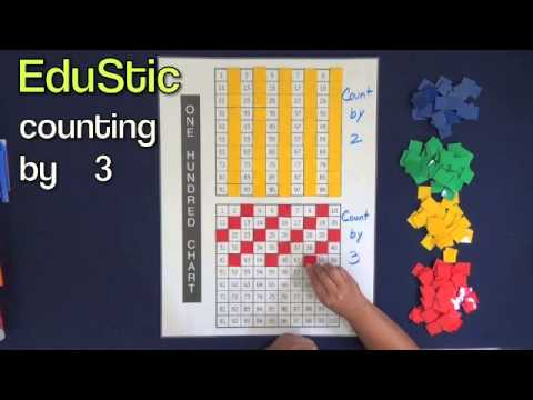 100's Chart- Counting by 2's and 3's