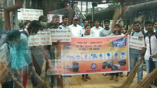 Shankar Narayan College, NSS: cleanliness campaign