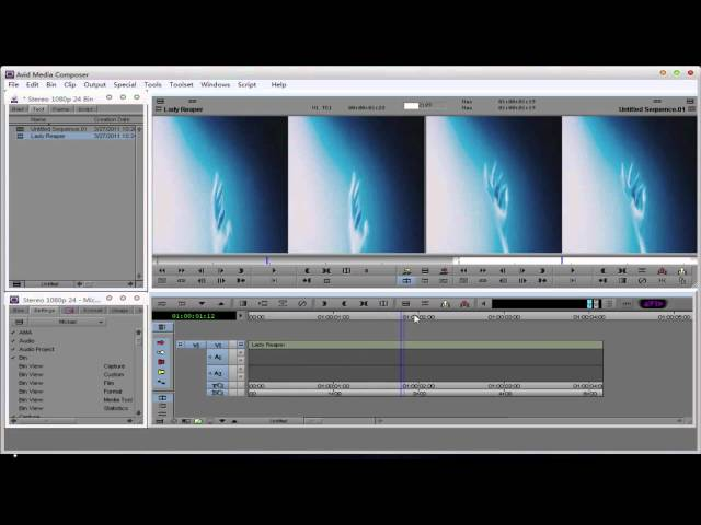 Stereo 3D Editing Inside Avid Media Composer
