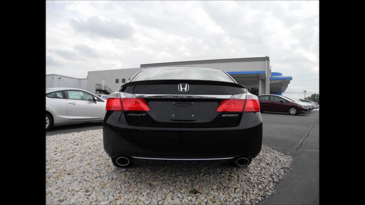 2013 Honda Accord Sedan Sport CVT Crystal Black Pearl - YouTube