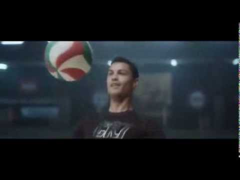 Football will save the planet (Messi Ronaldo advert)