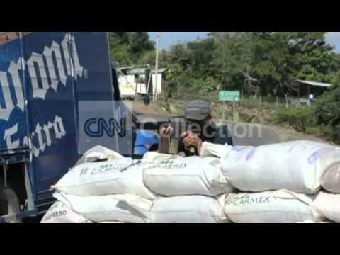 MEXICO:LOCAL VIGILANTES CLASH WITH DRUG CARTEL