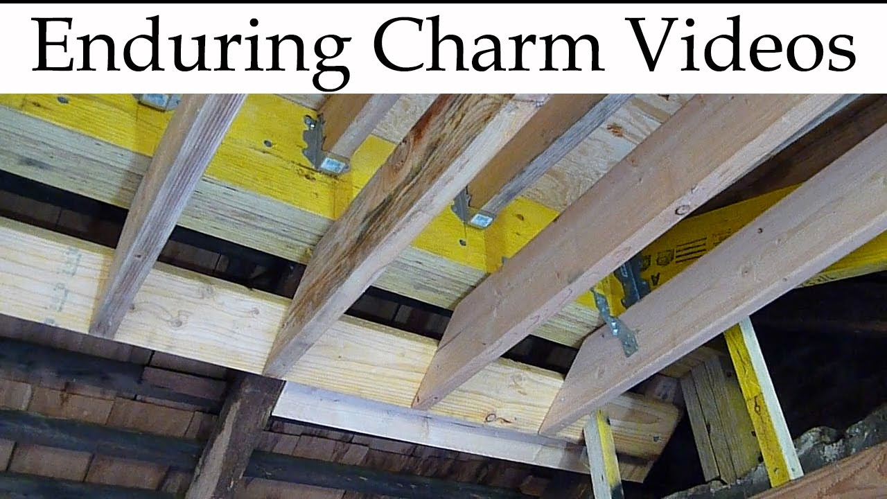 Structural Ridge Beam A Real World Example Youtube