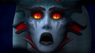 Azshara's Eternal Palace - Raid Finale Cinematic (Spoilers)