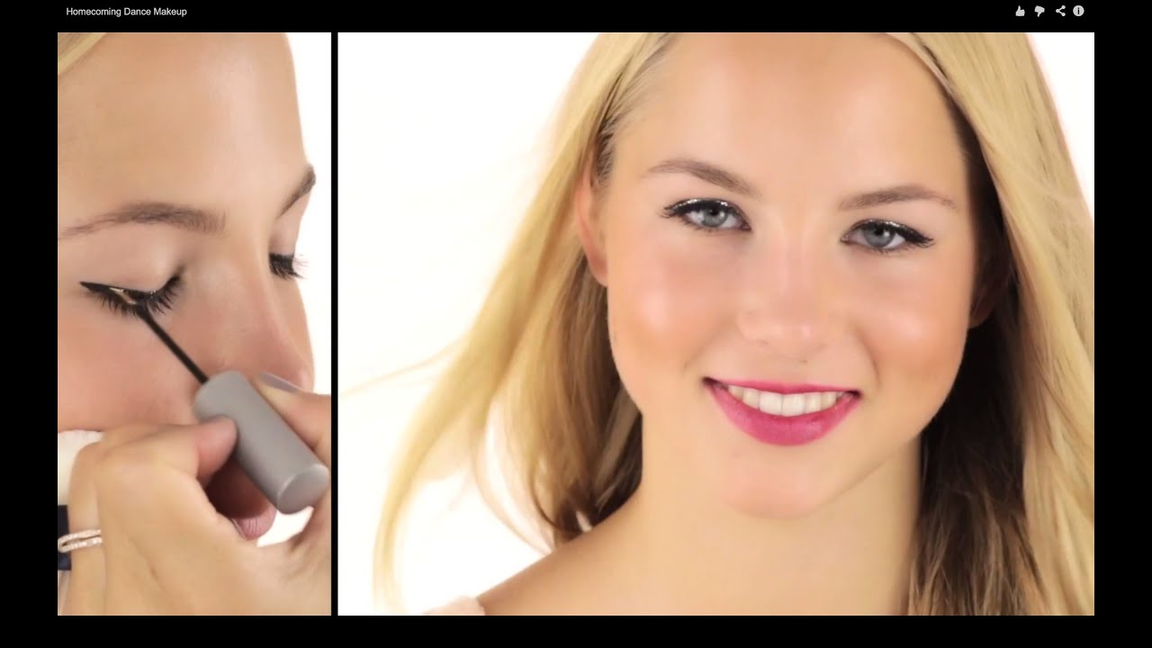 High school teenager fast and easy makeup tutorial youtube - Teenager girl simple home ...