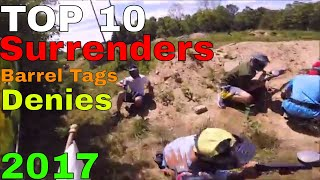Top 10 Paintball Surrenders, Barrel Tags, and Denies of 2017