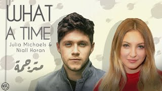 Julia Michaels What A Time Ft Niall Horan Audio مترجمة