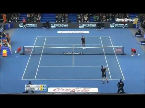 Roger Federer - Best points from IPTL 2014