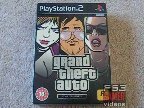 Grand Theft Auto: The Trilogy PS2 unboxing