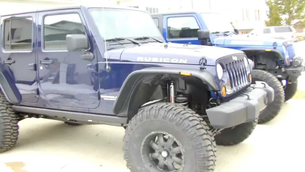 2013 Jeep Wrangler Rubicon With 6 Quot X Series Suspension
