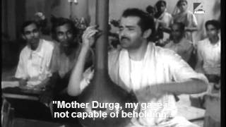 Bengali film song Trinoyoni Dutrga... from the movie Dhooli