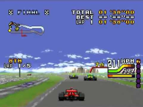 Super Nintendo Entertainment System Michael Andretti's IndyCar Challenge (USA)