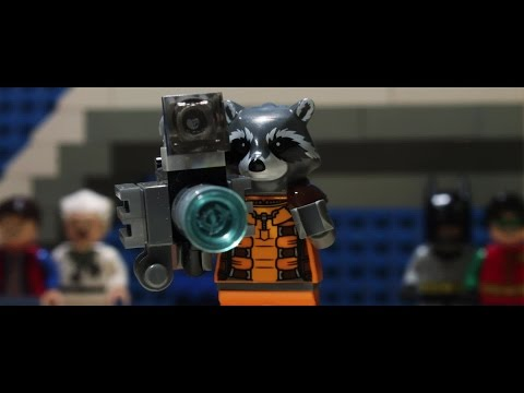 Guardiani della Galassia Trailer ITA Lego