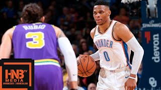 Oklahoma City Thunder vs Utah Jazz Full Game Highlights | 12.10.2018, NBA Season