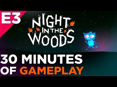Night in the Woods GAMEPLAY! E3 2016