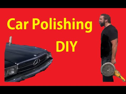 Polishing Faded Paint How To Buff & Polish Car Detail Work BTS Part #2