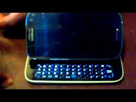 samsung galaxy s3 bluetooth keyboard case