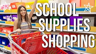 COLLEGE SCHOOL SUPPLIES SHOPPING 2019!!