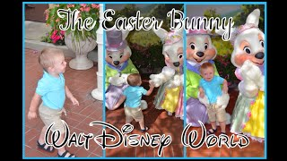 EASTER BUNNY AT MAGIC KINGDOM! Small World, Winnie The Pooh, Little Mermaid, & dance party!