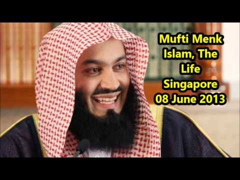 Mufti Menk NEW Islam The Life Singapore Lectures this week 08 June 2013