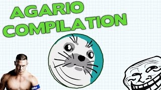 AGAR.IO BEST PLAYS MIX - COMPILATION OF WINS IN AGARIO