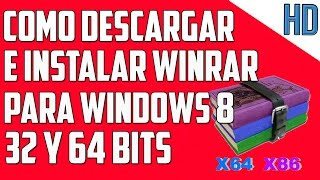 Como descargar e instalar winrar para Windows 8 y 81 full en español
