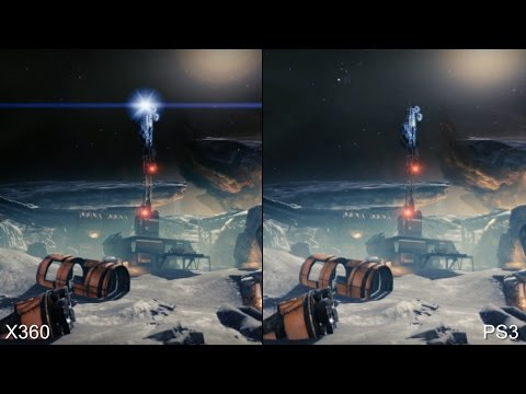 Destiny Beta: Xbox 360 vs PS3 vs PS4 Comparison klip izle