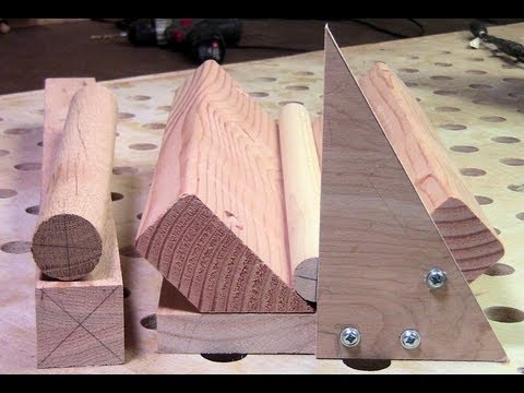 Woodworking - Make an End Center Marking Jig