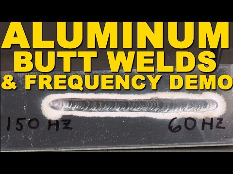 TIG Welding Aluminum Butt Welds