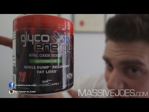 NGN GlycoCarn GPLC Glyco Energy Nitric Oxide Booster Supplement Review - MassiveJoes.com RAW Review