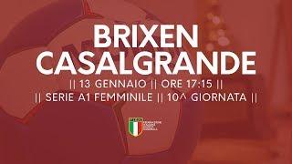 Serie A1F [10^]: Brixen - Casalgrande 23-22