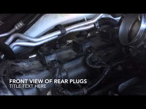 how to change spark plugs on a 2013 dodge journey