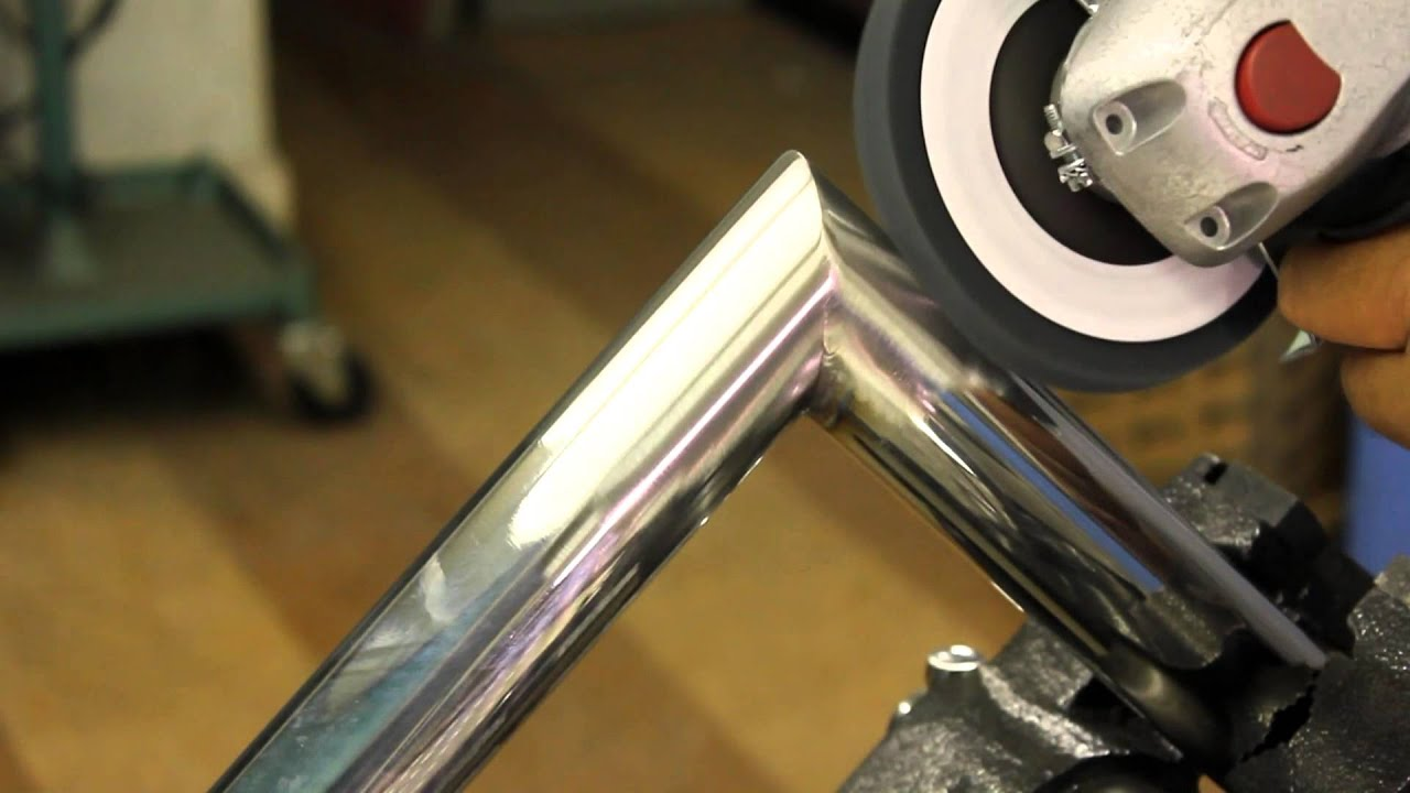 How To Finish A Welded Stainless Steel Tube In 3 Steps