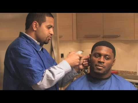 Celebrity Haircuts by EAC Barbershop: Thomas Jones and Julius Jones Video
