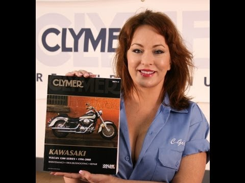 Clymer Manuals Kawasaki Vulcan 1500 VN1500 Classic Nomad Drifter Shop Service Repair Manual Video