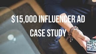 $15,000 Influencer Marketing + Dropshipping Case Study