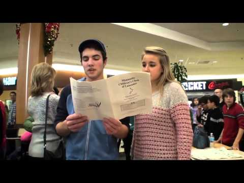 Park City flash mob: Hallelujah Chorus fills food court