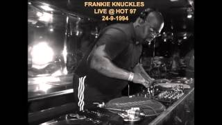 FRANKIE KNUCKLES @ HOT97 24 9 1994