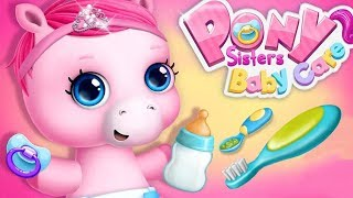 Pony Sisters Baby Horse Care Kids Game - Babysitter Daycare, Fun Dress Up Makeover Games For Kids