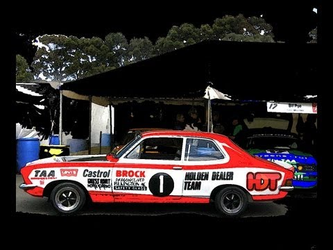 falcon GT XB ALLAN MOFFAT  TORANA GTR XU1 PETER BROCK RACING
