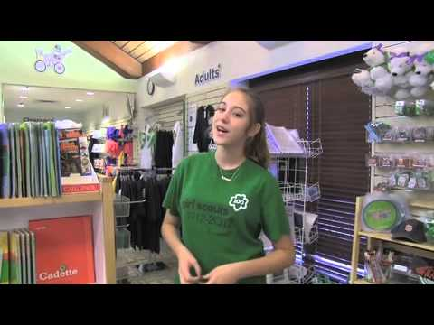 take a tour girl scout badge amp sash store mableton   youtube