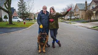 ¿Cómo es vivir en Canadá? | Tour de un Barrio Canadiense